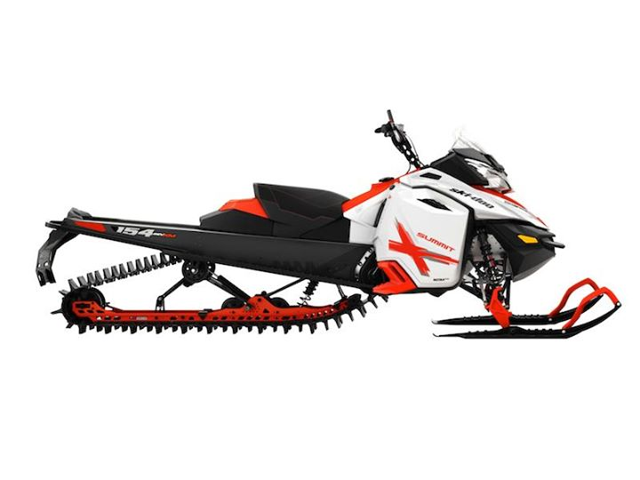Snowmobile Summit X 154