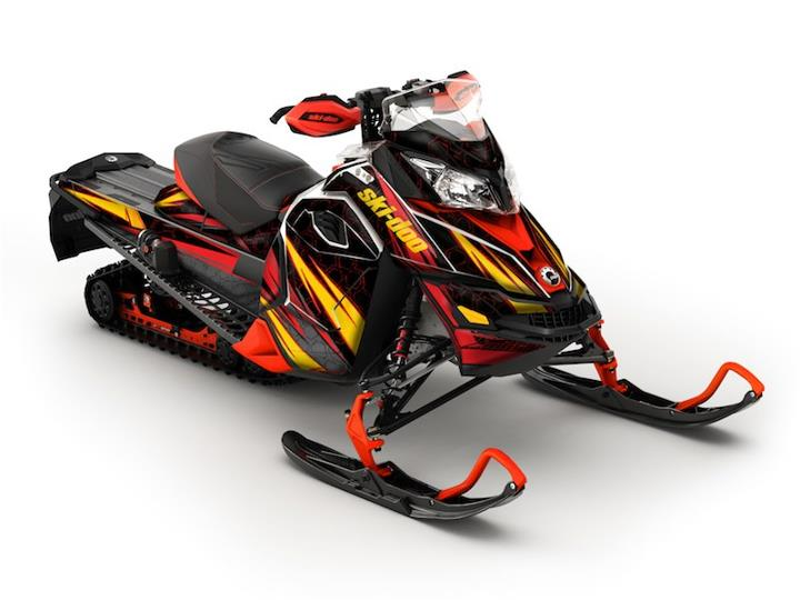 Snowmobile Cubic Wrap