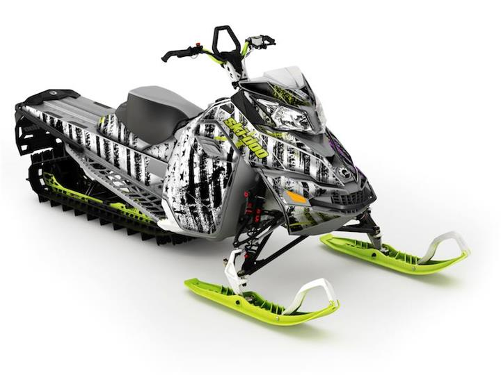 Snowmobile RiseAbove Wrap