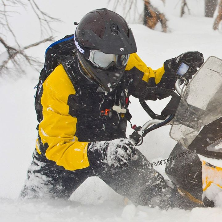 Snowmobile Looking for an alternative now? Our Helium gear becomes more breathable the harder you work. All-new designs for this year: http://bit.ly/Helium_fb