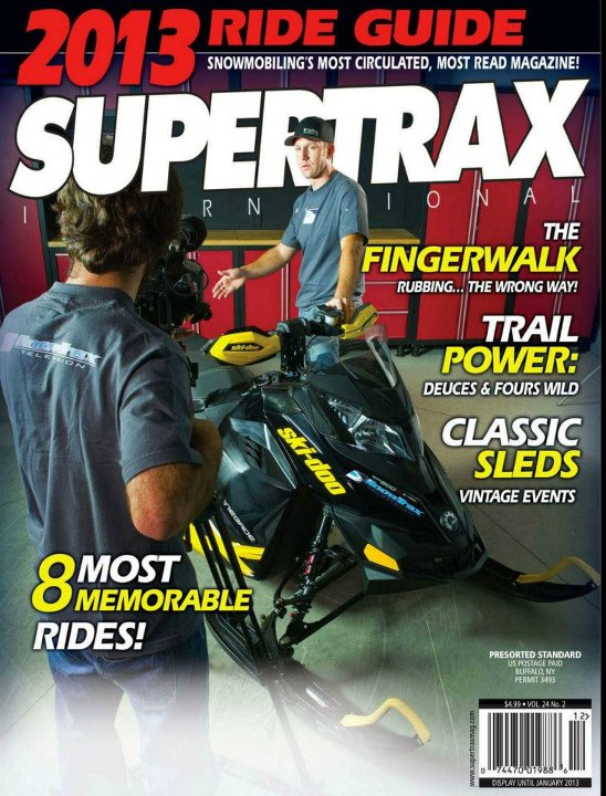 Snowmobile SuperTrax Dec 2012
