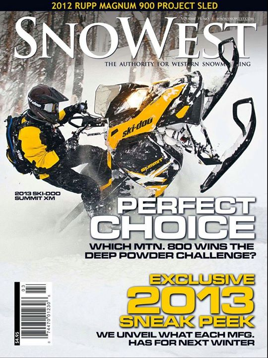 Snowmobile SnoWest Spring 2012
