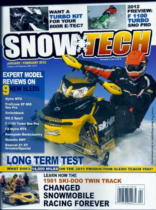 Snowmobile Jan-Feb 2012 SnowTech