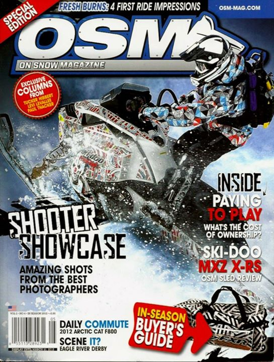 Snowmobile OSM Spring 2012