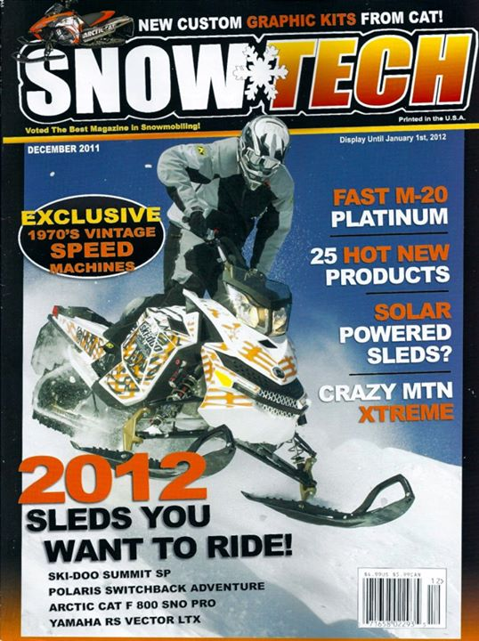 Snowmobile SnowTech Jan. 2012