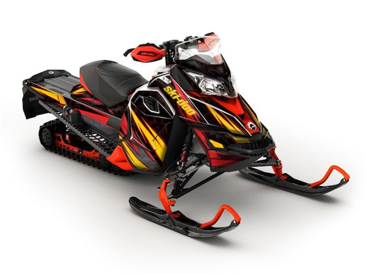 Snowmobile Cubic Wrap from SCS Unlimited