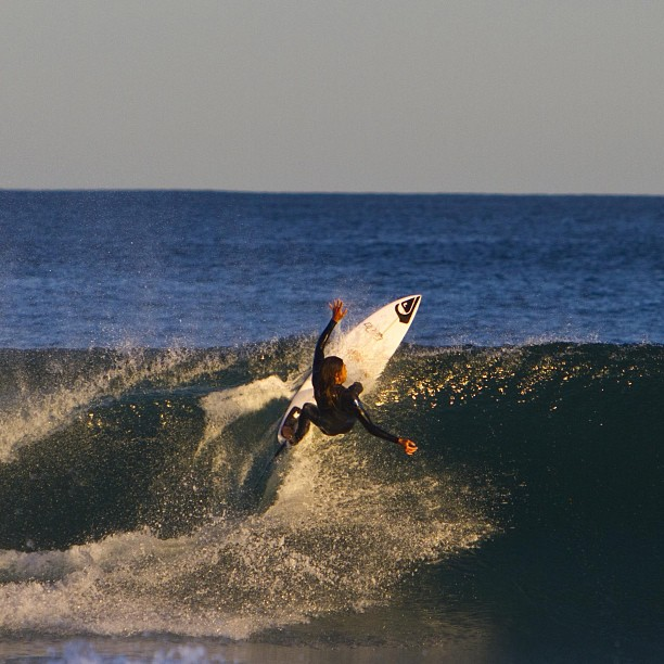Surf From top to bottom, Ando has things covered. Photo: Respondek