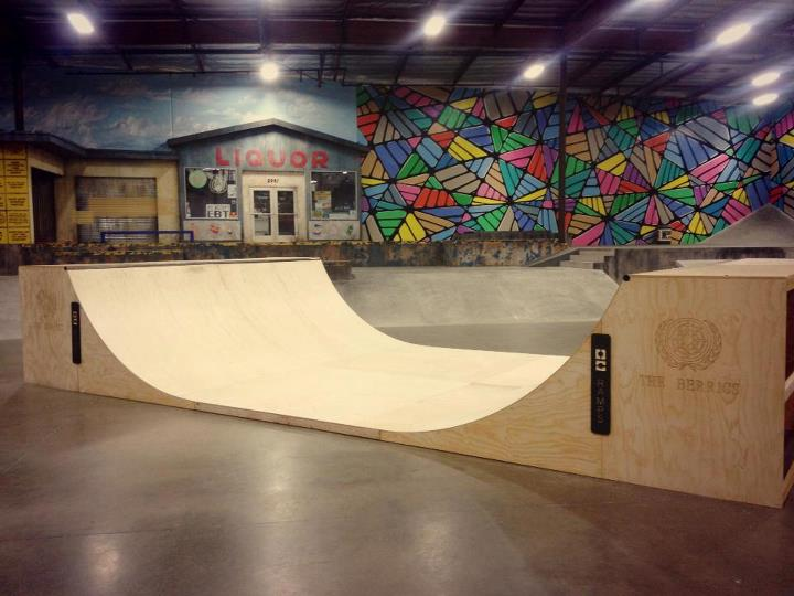Skateboard Super thrilled to see OC Ramps build a mini ramp for The Berrics.  These ramps are a dream to skate.  We've got a wide selection of them, all of which ship free!  Check them out here:
