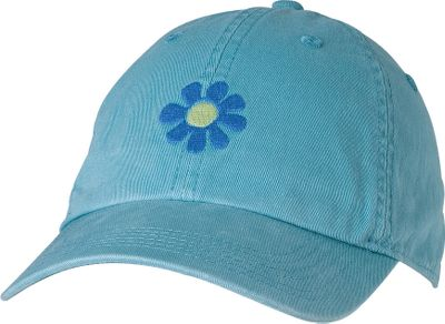 The ever popular Life is good logo graces the front of this garment-washed cotton twill cap. Low profile and relaxed to fit like your favorite hat right out of the box. Imported.Sizes: S, M/L.Colors: Hot Fuschia, Turquoise Blue. - $16.00