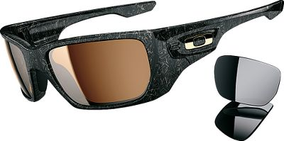 High Definition Optics have become more versatile with Oakleys Style Switch Nonpolarized Sunglasses. Oakley has reengineered its Switchlock hassle-free interchangeable lens technology to suit your look based on mood or environment. Style Switch offers two sets of lenses for you to change at your convenience. Lenses are cut to preserve a perfect, continuous contour while enlisting Polaric Ellipsoid to deliver true vision at any angle. Oakleys three-point fit comfortably hugs nose and ears, holding the lens in precise optical alignment. Frames are constructed of durable yet lightweight O Matter for long-lasting wear. Impact resistance meets ANSI Z80.3 standards. Made in USA. - $160.00