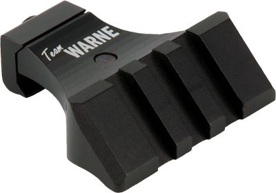 This 45 Picatinny side mount is specially designed for the Flat-Top AR-15 and other tactical-style rifles. It provides a 45 accessory platform that can be mounted on a handguard, so your backup sight is perfectly aligned with the sight on your R.A.M.P. mount. Installation is quick and requires no modification to your firearm. Constructed of rugged, machined 6061 aluminum with a durable anodized finish. Designed to co-witness with the side rails of the R.A.M.P. mount to allow the use of a pop-up or fixed-type combat/open sights. Also creates a mounting positon for a flashlight, laser sight or sling without obstructing your sight line.Colors: Black, Blue, Red, Dark Earth. Type: Scope Mounts. Style Black. - $22.88