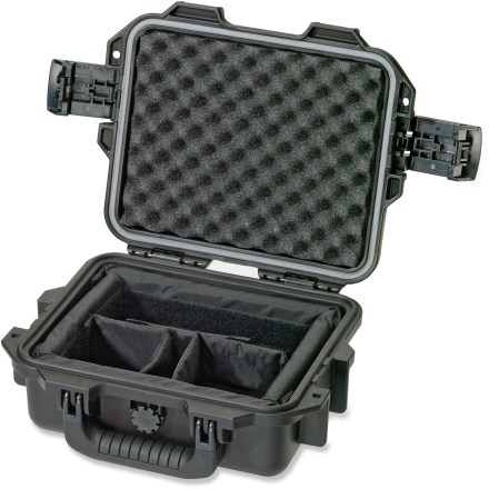 Entertainment The Pelican iM2050 storm case offers your electronics and other valuable equipment virtually unbreakable, watertight and airtight protection wherever you may roam. High-impact structural copolymer resin, strong hinges and press-and-pull latches make this case extremely strong and durable for reliable protection of your equipment. Neoprene O-ring creates a dustproof, airtight and watertight seal. Automatic pressure purge valve allows quick equalization after altitude or temperature changes. Foam cushioning helps protect your equipment from impact, vibration and shock. The Pelican iM2050 storm case features a double-layer soft-grip handle and 2 padlock-compatible hasps. - $77.93