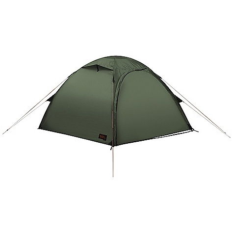 Camp and Hike Free Shipping. Fjallraven Akka Dome 3 Person Tent DECENT FEATURES of the Fjallraven Akka Dome 3 Person Tent Free standing dome tent Closable ventilation with mosquito net Silicone treated polyester outer fabric with 4000 mm water column PU coated taffetta polyamide floor fabric with 10,000 mm water column Two doors one on each side of tent Extra large vestibules make space for more gear 2 mm reflective guylines Mesh gear loft makes organizing easy The SPECS Capacity: 3 person Weight: 4300 g Construction: Free standing Outer: 30D Triple-Rip Polyester, both sides siliconized Inner: 30D Ripstop polyamide water resistant Floor: 70D polyamide PU-coated Mosquito Net: Polyester mesh Poles: Aluminum 7075-T9, 3 x 10.2 mm Pegs: Y-pegs Stuffed Size: 20 x 42 cm - $699.95