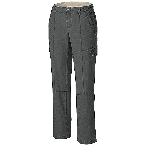 Free Shipping. Mountain Hardwear Women's Wanderland Pant DECENT FEATURES of the Mountain Hardwear Women's Wanderland Pant Low-rise with low-profile waist for comfort Two hand and back pockets Side pocket flaps can be tucked in for clean look The SPECS Average Weight: 12 oz / 353 g Inseam: 30, 32, 34in. / 76, 81, 86 cm Body: Wandering Stretch Ripstop (57% cotton, 39% nylon, 4% elastane) - $79.95