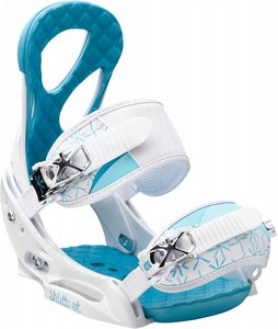 Snowboard Burton Stiletto EST Snowboard Bindings White/Blue 2013 - Women's    $189.95