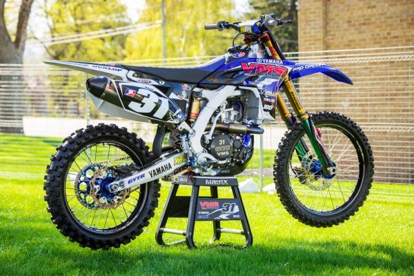 Motorsports INSIDE LOOK AT TRAVIS BAKER'S YZ250F
