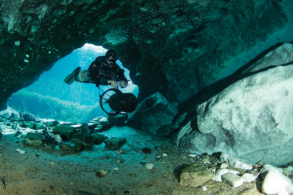 Scuba MERRITT'S MILL POND, FLORIDA