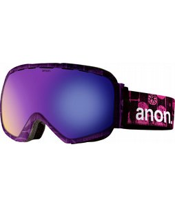 Snowboard Anon Somerset Goggles Cellbloc/Blue Solex Lens 2013 - Women's    $149.95