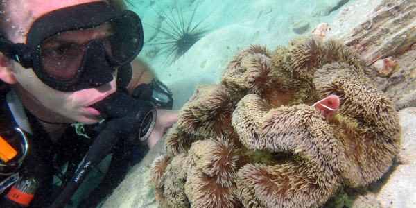 Scuba Sea Heroes: Gwyn Mills.  Article by Scuba Diving staff posted April 30, 2013