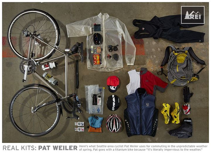 Fitness Need inspiration for biking to work? REI's bike-to-work regulars share their stories on the REI Blog: http://bit.ly/17wg1Da & their gear below.