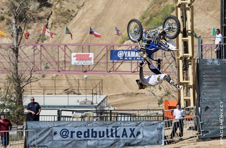 Motorsports PHOTO OF THE DAY: Rob Adelberg making his Red Bull X-Fighters qualifying run at Glen Helen Raceway which claiming him the top of the podium. Photo Creds: Space Monkey || View more X Fighter photos from the rest of our contributing photographers on our web