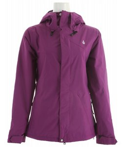 Snowboard Volcom Clove Insulated Snowboard Jacket Mystic 2013 - Women's    $200.00