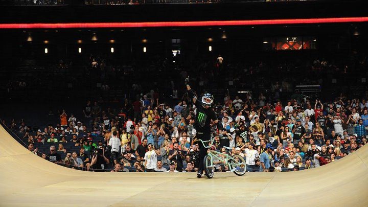 BMX Jamie Bestwick is looking to grab his 8th straight GOLD medal at X Games Barcelona! http://xgam.es/GoingforEight