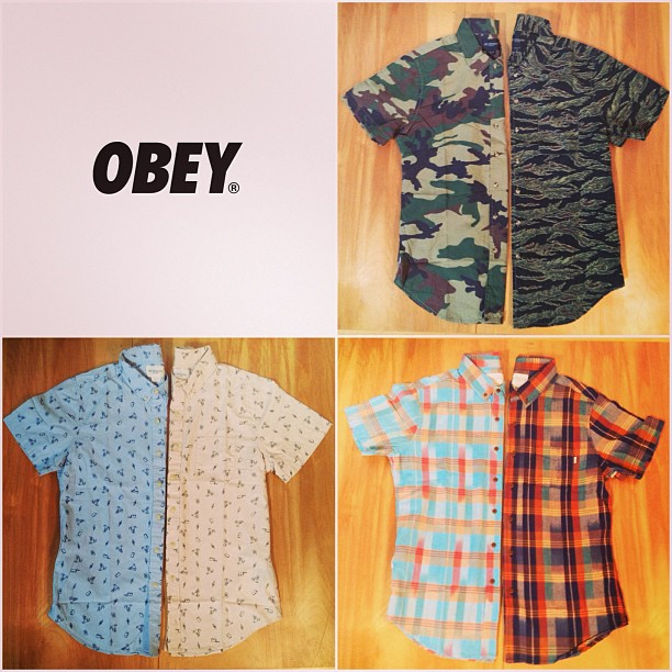 Surf New from #Obey Now available at all #JacksSurfboards store locations