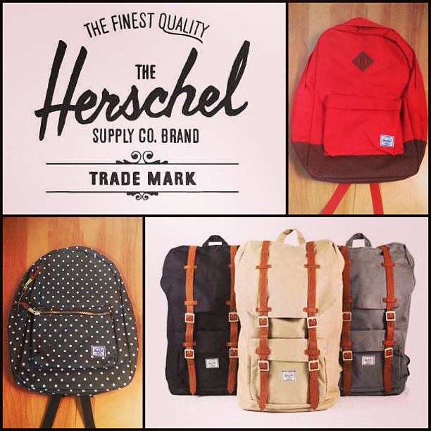 Entertainment A bunch of new backpacks from @herschelsupply just came in!!!