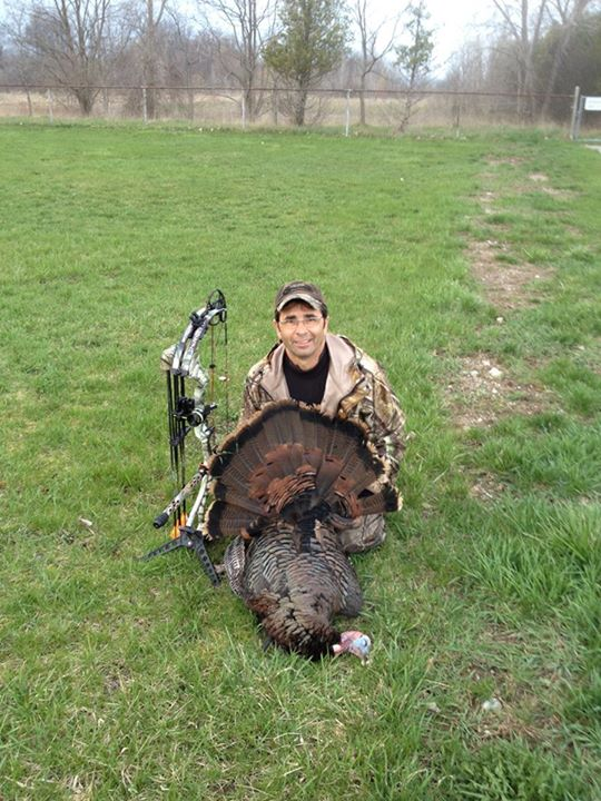 "Hunting ""Wanted to share my April 2013 Turkey hunt with the people at Bowtech. The new Insanity is an amazing bow. Thanks for staying one step a head of the competition. This bow is amazing."" - Submitted by Charlie Attard"