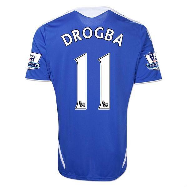 Entertainment DROGBA Chelsea Home Soccer Jersey 2011/2012