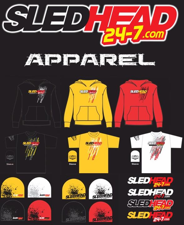 Snowmobile Who wants one? Let us know if you'd rock Sledhead 24-7 apparel.