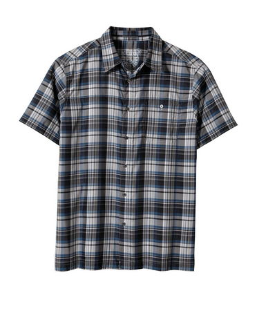 Guns and Military The KUHL Men's Instagatr(TM) Shirt is made with IONIK(TM) an advanced microfiber with natural odor and climate control. UPF 30 achieved through mechanically spun yarn. Left chest pocket with metal button front. Hidden security pocket. - $30.00