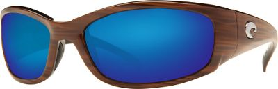 These Costa Kenny Chesney Hammerhead Polarized Sunglasses and Kit are part of the new color combinations handpicked by award-winning country-music artist Kenny Chesney. These limited-edition sunglasses provide the same Costa performance you trust. The Hammerheads durable nylon frames are built around stainless steel spring hinges and are fitted with Blue Mirror 400G LightWAVE glass lenses. LightWAVE glass is 20% thinner and 22% lighter that regular glass, and provides amazing clarity and durability. 100% UV protection. Hydrolite nose pads enhance comfort and improve stability. An eight-base lens curvature optimizes peripheral vision. Kit includes sunglasses, case, bottle opener, visor and lens cleaning cloth. Manufacturers lifetime warranty. - $199.00
