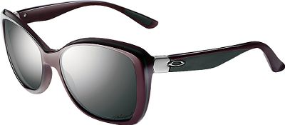 Step into the sun in the lightweight comfort, exceptional clarity and cat-eye style of Oakley Womens News Flash Polarized Sunglasses. Sleek, handmade acetate frames with a multilayer design are decked out with a three-point fit that holds lenses in perfect optical alignment. Unobtainium nose and ear pads deliver a secure fit, even when things heat up. The HDPolarized lenses, made of Oakleys Plutonite lens material, block 99% of reflective glare and 100% of all UVA, UVB, UVC and harmful blue light. Meets ANSI Z80.3 standards for basic impact and optical performance. Case included. - $200.00