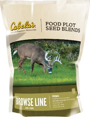 Cabelas food-plot blends have been specially formulated to give you plenty of options for creating the custom plot youve always wanted. This perennial blend delivers a year-round attractive, highly nutritious clover and chicory plot. One planting lasts 3-5 years. Chicory helps sustain your plot during hot, dry summer months. Ideal in heavy, well-draining soils that hold moisture. Plant in spring or fall. Made in USA. Available: 4-lb. bag plants 1/2 acre. - $11.88
