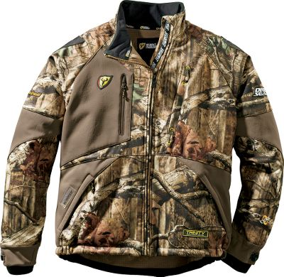 Ideal for midseason wear or as a late-season layer, the ScentBlocker Mens Matrix Jacket keeps you warm and dry and reduces odors with revolutionary Trinity technology. Wind- and water-resistant shell lets you stay on stand longer. BodyLock technology seals critical points for to reduce odors. Shell is bur-resistant. Rangefinder pocket on right chest for convenience. One vertical left-chest pocket and two lower zippered hand pockets store needed items. Tapered neck area reduces bulk and increases mobility. Tree Spider compatible. Made of 100% polyester. Imported. Sizes: M-2XL. Camo patterns: Mossy Oak Break-Up Infinity, Realtree XTRA. Size: L. Color: Realtree Xtra. Gender: Male. Age Group: Adult. Material: Polyester. - $219.99