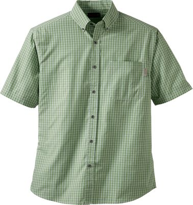 Wolverines Briscoe Plaid Short-Sleeve Shirt is crafted of light and airy 100% cotton poplin for breathable comfort. Wolverines garment-washing process gives a broken-in look and feel from day one. Metal buttons. Rolled shoulders for comfortably carrying a tool bag. Chest pocket and button-down collar. Double-needle topstitching add durability. Imported. Sizes: M-2XL. Colors: Torch, Cactus, River, Lead. Size: XL. Color: Torch. Gender: Male. Age Group: Adult. Pattern: Plaid. Material: Cotton. - $9.99
