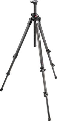 The Manfrotto 055 Tripod offers rigid performance for hard-core glassing or photography. Extremely versatile and easy to use, the Quick Power Lock system increases locking power for reliable stiffness and allows one-handed operation for quick and easy setup. Easy Link attachment lets the 055 be used as a portable photo studio, letting you get the perfect outdoor shot. Rotating bubble level can beadjusted 360 for optimum convenience and functionality. Q90 center column changes from the vertical to horizontal position without removing the head, making setups between areas extremely convenient. The tripod is capable of reaching ground level for unusual perspectives. Available: Carbon-Fiber Three-Secion Max. ht: 67. Folded length: 24. Wt: 4.4 lbs. Max. capacity: 19.8 lbs. Aluminum Three-Section Max. ht: 67. Folded length: 24. Wt: 5.5 lbs. Max. capacity: 19.8 lbs. Type: Tripods. - $239.99