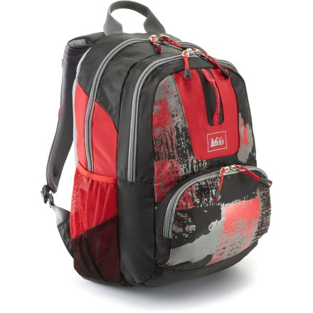 Entertainment With a kid-friendly size and style, the REI Big School daypack is a stellar choice for your elementary schooler. It provides plenty of room and support for carrying books, binders, jackets and lunch. - $21.93