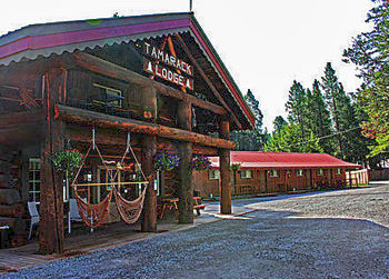 Hunting Historic Tamarack Lodge and Cabins for elk, deer and bear - Hungry Horse, Montana 