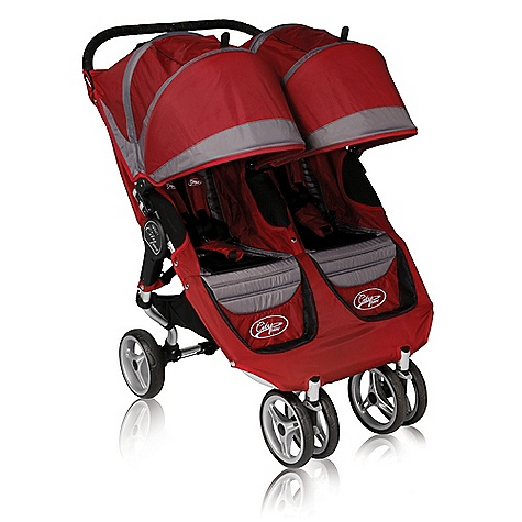 "On Sale. Free Shipping. Baby Jogger City Mini Double Stroller - Spring 2011 DECENT FEATURES of the Baby Jogger City Mini Double Stroller Padded seat reclines to a near flat position Vented seat recline with retractable weather cover Locking swivel front wheel with suspension 8in. lightweight quick-release wheels with sealed ball bearings Adjustable 5-point safety harness with shoulder pads and buckle cover Multi-position ""no pinch"" sun canopy with peek-a-boo windows Under seat storage basket Seat back storage compartment Rear parking brake Secure storage strap to keep stroller folded for transportation or storage The SPECS 8in. wheels Assembled Dimension: 38.5in. x 29.75in. x 41.5in. Folded with Wheels Dimension: 31in. x 29.75in. x 11.25 Folded without Wheels Dimension: 31in. x 29.75in. x 7in. Weight: 26.6 lbs Recommended Weight Capacity: 100 lbs (Maximum recommended weight capactiy equals combined wieght of passenger, storage and accessory options) Seat Dimensions Max. head height: 23in. Seat back: 19.25in. Seat to knee: 9.25in. Shoulder width: 11in. Knee to footplate: 8.75in. Width of knee: 12.5in. OVERSIZE ITEM: We cannot ship this product by any expedited shipping method (3-Day, 2-Day or Next Day). Even if you pick that option, it will still go Ground Shipping. Sorry for being so mean. This product can only be shipped within the United States. Please don't hate us. - $359.99"