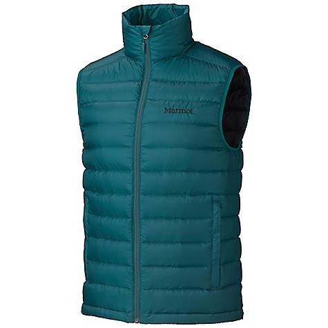 Free Shipping. Marmot Men's Zeus Vest DECENT FEATURES of Marmot Men's Zeus Vest Ultralight Down-proof Fabric 800 Fill Power Goose DownZippered Hand Pockets - For Convenience Elastic Draw Cord Hem - For Adjustability in Serious Weather Packs into Pocket The SPECS Center Back Length: 27in / 68.6cm Overall Weight: 10.1 oz / 286.3 g Main Material: 100% Polyester DWR Bantam Ripstop 1.1 oz/yd Lining Material: 100% Polyester DWR 1.8 oz/yd Insulation Material: 800 Fill Goose Down - $149.95