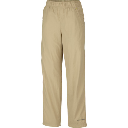 Diseases borne by biting insects are a big concern in many parts of the country; enjoy some peace of mind when you send your boy out to play in the woods or backyard wearing the Columbia Boys' Insect Blocker Pant. The highly effective, non-toxic treatment in these lightweight, quick-drying pants keeps working for up to 70 washings (long after he's outgrown the pant) so you can relax and let him go outside like kids were meant to in the summer. - $48.71