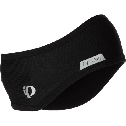 Fitness Keeping the ears warm during cool weather rides is essential to late or early season cycling comfort. The Pearl Izumi Thermal Headband effectively pulls perspiration from your skin while retaining body heat for maximum comfort. To accomplish this, the Thermal Headband relies on Pearl's P.R.O. Thermal fabric. This fabric, an insulating and moisture wicking material with a soft liner, is stretchy to snugly fit against your ears and under helmet straps. The Pearl Izumi Thermal Headband has clearance for a ponytail and it has reflective elements for low light safety. It comes in Black and it's one size fits all. - $17.95