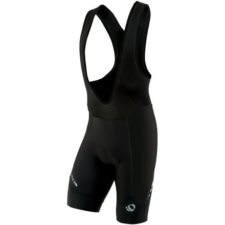 Fitness Pearl Izumi's P.R.O. collection is engineered for cyclists with the highest standards in apparel design and craftsmanship. The line incorporates advanced material technology, construction methods, and an aerodynamic fit in order to provide you with Izumi's full engineering capabilities. The P.R.O. Leader Bib Shorts are built with each of these characteristics in mind, delivering race-proven bibs that provide maximum comfort and quality. Pearl Izumi constructed the bulk of the bib shorts using a combination of two distinct technical fabrics. The first is P.R.O. Transfer In-R-Cool, which is a lightweight and super elastic material that incorporates what's known as Coldblack technology. This is a finishing treatment that reduces the absorption of heat rays in darker fabrics, resulting in protection from the sun and improved heat management. The second fabric is Pearl Izumi's Transfer Dry fabric, which complements the In-R-Cool material with its ability to pull moisture from the skin, accelerate dry time, and combat odor. Pearl Izumi accomplishes this by treating the Transfer Dry with what it calls Minerale. Basically, this is a porous, highly absorbent yarn that's been infused with crushed volcanic rock. Blending these two fabrics for the bulk of the shorts' paneling material means that you stay supported, dry, and comfortable throughout your longest rides. The multi-panel design of the bib shorts gives you an anatomic fit, with structured leg openings that wrap and support your muscle groups. The inseam measures ten inches (size Medium), and the cuffs are treated with silicone -- keeping the panels in place and providing extra grip for either knee or leg warmers. Wide bib straps flow up from the top panels, smoothly tapering at the shoulders. The P.R.O. Leader Bib Shorts are built around Izumi's seamless 4D Chamois. This insert incorporates 12mm variable density padding throughout its three-layer construction. - $239.95