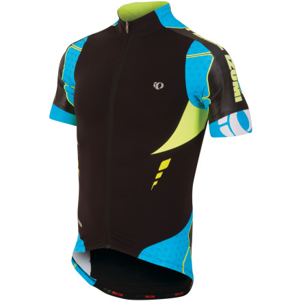 Fitness As with the complementary Leader Bib Shorts, Pearl Izumi's P.R.O. Leader Jersey was built for cyclists who have the highest standards in apparel design and craftsmanship. The P.R.O. collection incorporates advanced material technology, construction methods, and an aerodynamic fit in order to provide you with Pearl's full engineering capabilities. The P.R.O. Leader Jersey was designed with each of these characteristics in mind, delivering a race-proven top that provides maximum comfort and quality. Pearl Izumi constructed the Leader Jersey using a full-torso treatment of its top-end P.R.O. Transfer In-R-Cool fabric. This material is lightweight, super elastic, and incorporates what's known as Coldblack technology. This is a finishing treatment that reduces the absorption of heat rays in darker fabrics, resulting in protection from the sun and improved heat management. This built-in feature is based on technology that reflects the sun's rays to reduce the surface temperature of the fabric by up to 35 degrees Fahrenheit in direct sunlight, so you can be wearing an entirely black kit and feel like you're wearing white. Aside from taking such care with the material, Pearl Izumi also ensures your comfort by welding stretchy, mesh Direct-Vent panels under the arms to provide extra ventilation. Easy all-out cooling has been made possible by the full length zipper. And don't worry about struggling to get the zipper up and down; this one moves like a silky dream. Three back pockets on the P.R.O. Leader Jersey allow you to bring along your whole repair kit, wallet, gel packs and CO2 cartridges. A fourth sweat-proof pocket has been included so that you can keep your phone accessible and safe from moisture. Extra support at the back pockets keep them from sagging when fully loaded for a five-hour ride, and an elasticized gripper on the back keeps the jersey fully in place. The Pearl Izumi P.R.O. - $199.95
