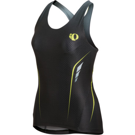 Fitness It's no secret that Pearl Izumi's line of P.R.O. gear is the pinnacle of this company's technology-driven products. And with just a quick look at the P.R.O. In-R-Cool Women's Tri Singlet, Pearl's intent becomes clear -- this top was built for speed. Unlike common dark textiles, which absorb heat, Pearl's In-R-Cool fabrics have a UPF 50+ rating and reflect the sun's radiant energy. This reduces the fabrics surface temperature in order to avoid overheating during the ride and run stages on hot, sunny days. Also keeping you cool is Pearl Izumi's proprietary P.R.O. Aero fabric, a blend of nylon, elastane, and polyester. The resulting engineered knit produces an outer-surface that's optimized to smooth turbulent air and reduce drag, and as stated above, it also provides core comfort. It's textured for breathability and to accelerate moisture transfer away from the skin. And by keeping your skin cool and dry, you'll experience both irritation free pedaling and running. Providing a lightly compressive fit that maximizes muscle efficiency, the P.R.O In-R-Cool's multi-panel design allows you to spin with consistent power. It also ensures that the singlet provides the greatest degree of mobility by working with the Aero fabrics natural stretch in order to eliminate the threat of binding. Pearl Izumi does not recommend the P.R.O. In-R-Cool Women's Tri Singlet for use in chlorinated pools. A laundry bag is included with the singlet, and it comes in five sizes from X-Small to X-Large and in the colors White, Scuba Blue, and Black. - $129.95