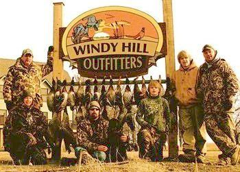 Hunting Windy Hills Outfitters for great duck and pheasant hunting