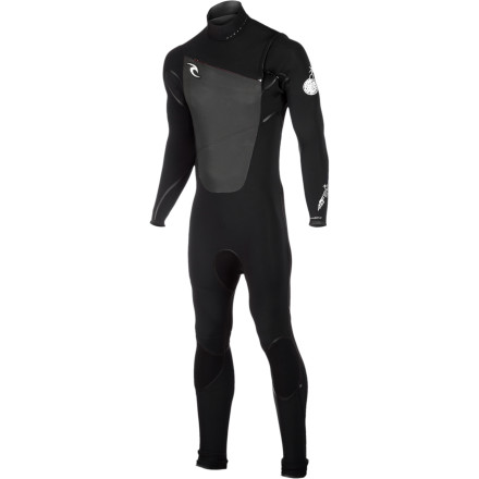 Surf You'll probably drop a few expletives out of sheer joy the first time you go surfing in the Rip Curl Men's F-Bomb CZ 4/3 Wetsuit. That's because its E3 neoprene is incredibly lightweight and flexible to keep you warm in cooler water without weighing you down or restricting movement. Seamless underarms and shoulders and a chest-zip entry further improve stretch so you feel free whether you're paddling out or getting barreled. The Flash lining has two specially engineered layers that funnel water out of the suit for amazingly fast drying; catch some waves in the morning, hang up your suit during lunch, and it'll be dry by the time the afternoon set rolls in. - $286.96